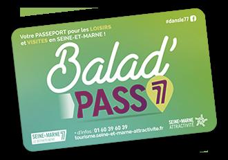 Carte baladpass77