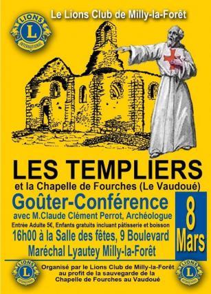 Affiche Templiers