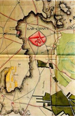 Plan d'intendance de Larchant